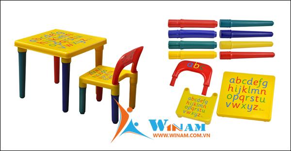 Những mẫu bàn ghế trẻ em mới nhất do Winam sản xuất