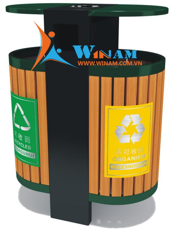 Thùng rác công viên - WINWORX-WA.LJ.017