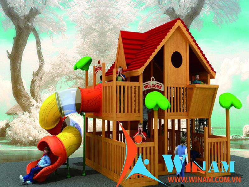 Giải pháp nào cho Sân chơi trẻ em vào mùa mưa?