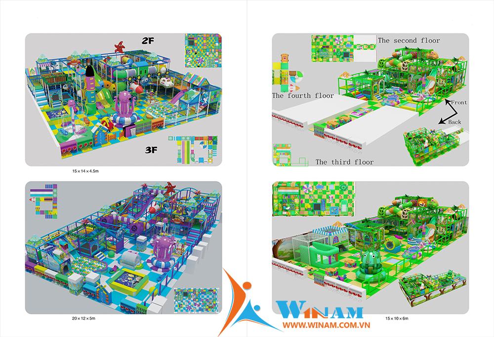 Thiết bị vui chơi trong nhà - WinPlay-W-32