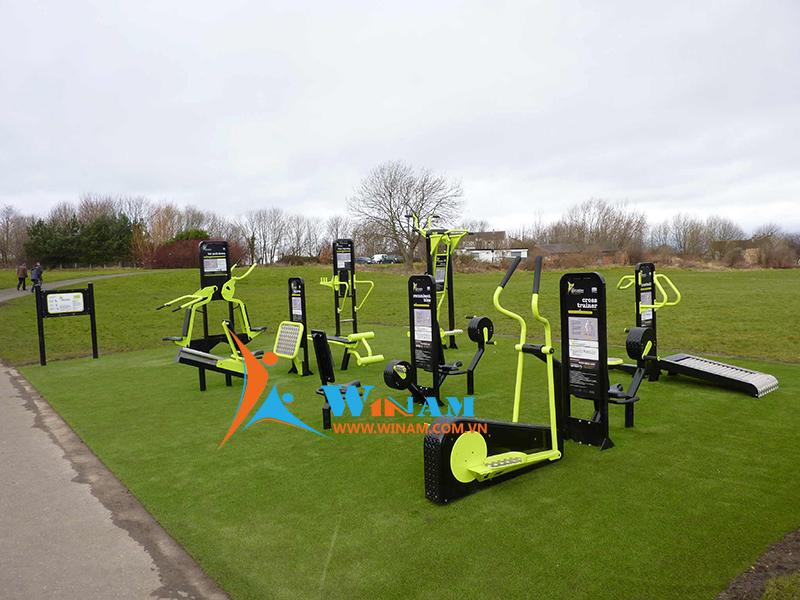 Giới thiệu các thiết bị tập thể dục ngoài trời phổ biến hiện nay