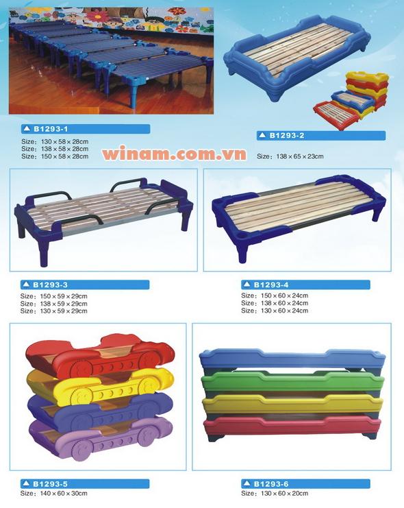 Giường nhựa cho trẻ - WinPlay-G1293
