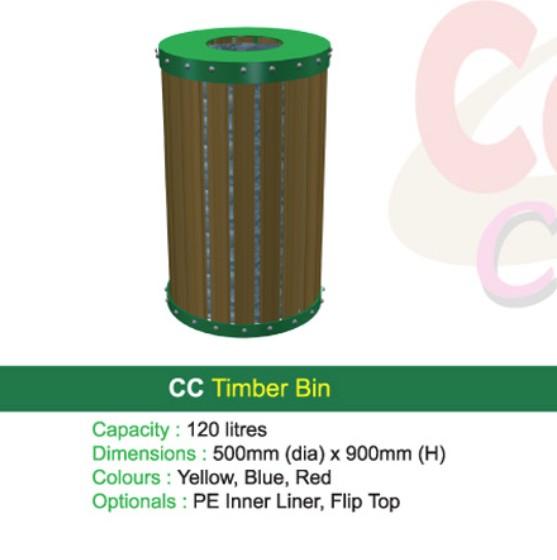 Thùng rác - WINWORX-MC-CC-Timber-Bin