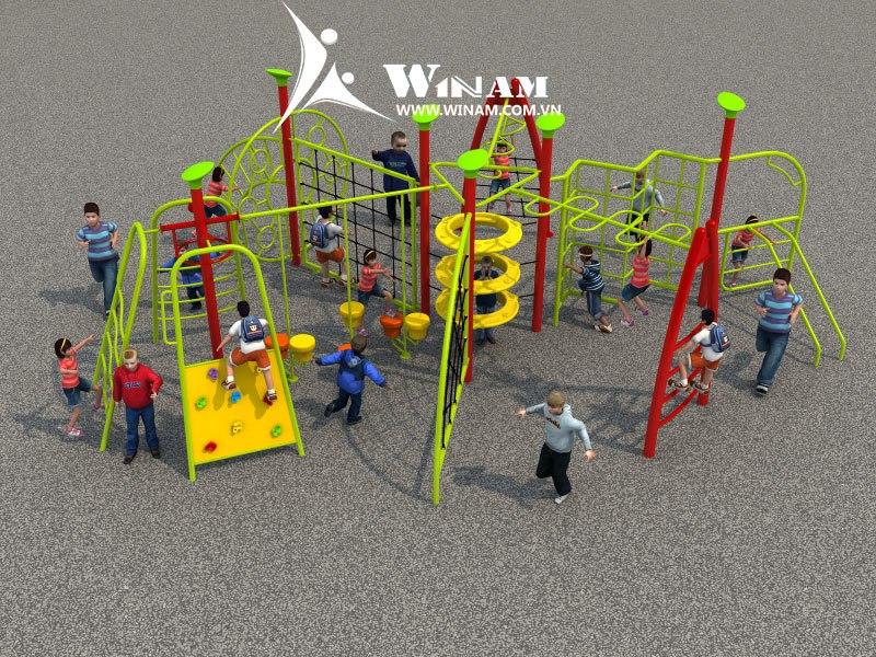 Vai trò và tầm quan trọng của thiết bị khu vui chơi đối với sự phát triển của trẻ