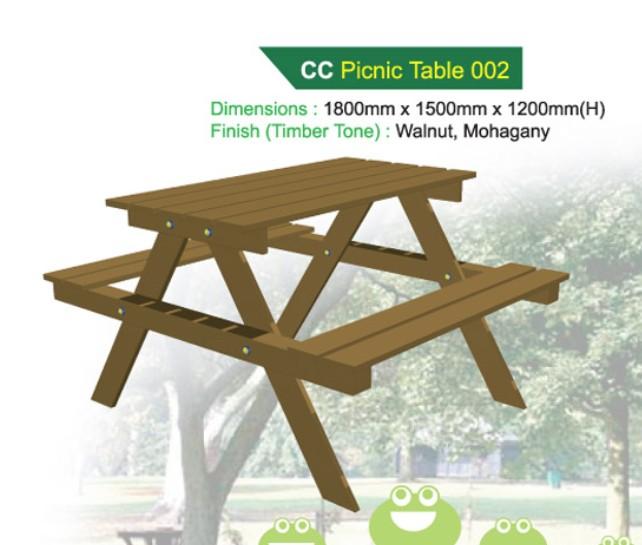 Bàn nơi công cộng - WINWORX-MC-CC-Picnic-Table-002
