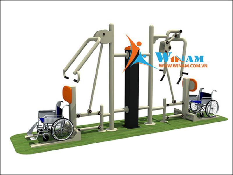 Winam cung cấp Thiết bị tập thể dục ngoài trời cho người khuyết tật