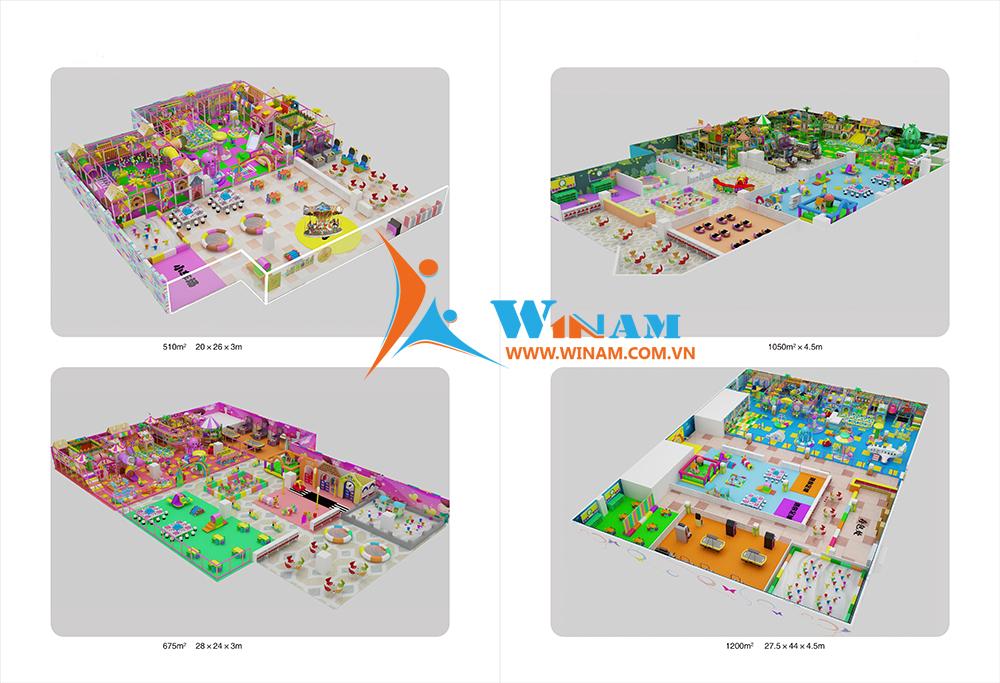 Thiết bị vui chơi trong nhà - WinPlay-W-42