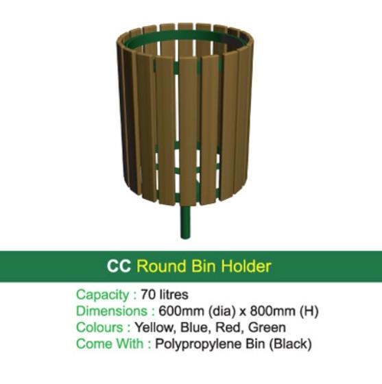 Thùng rác - WINWORX-MC-CC-Round-Bin-Holder