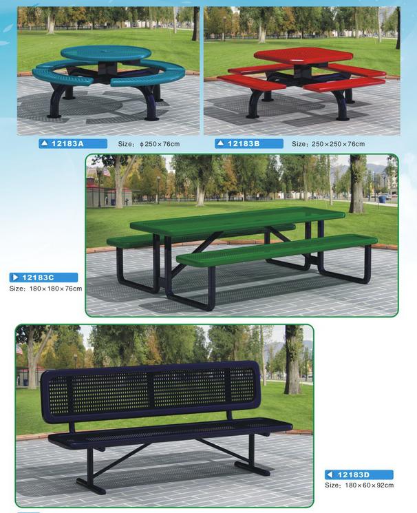 Bàn ghế công cộng - WinWorx-12183