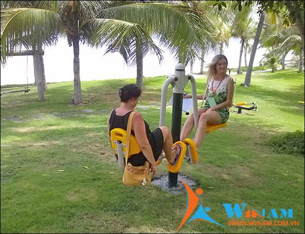 Cung cấp Thiết bị tập thể dục ngoài trời cho Công viên và nơi công cộng